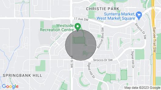 Joe's Cozy and Quality Entire Basement Suite Map