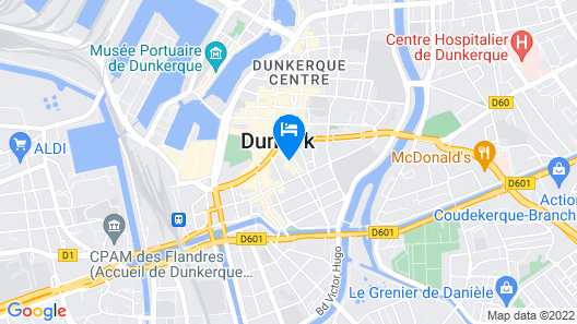 Résidence Les Jardins Map
