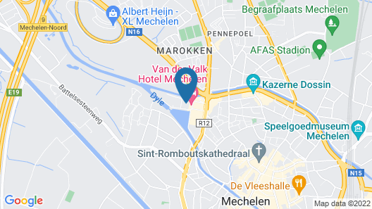 Van der Valk Hotel Mechelen Map