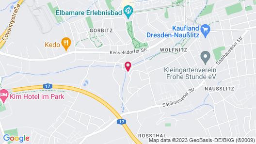 Hexenhaus Map