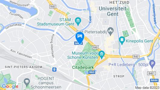 Entrenous B&B Ghent Map
