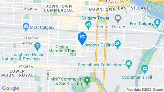 Hotel Arts Map