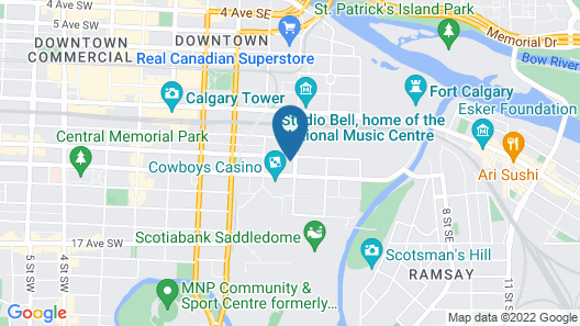 Suite Digs Arriva Map