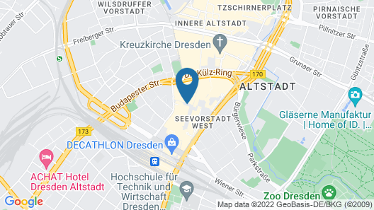 The Student Hotel Dresden Map