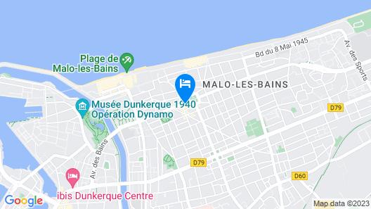 Hôtel L'Hirondelle Map