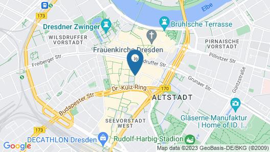 NH Collection Dresden Altmarkt Map