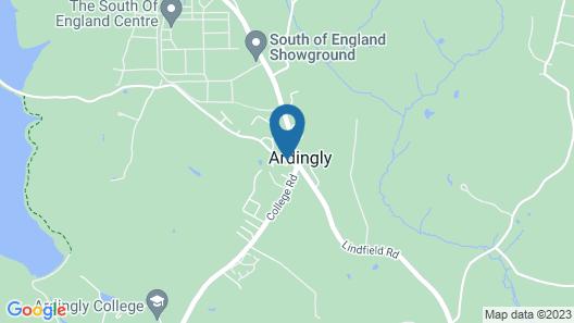 Ardingly Inn Map