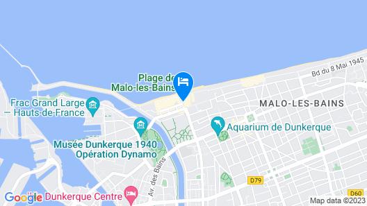 Le Transat Bleu Map