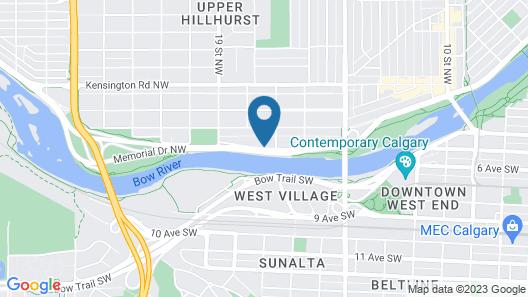 Westmount River Inn Map