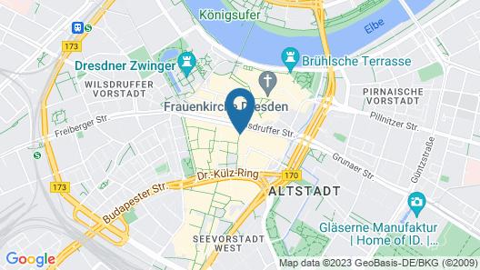 Star G Hotel Premium Dresden Altmarkt Map