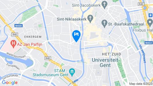 Boutique Hotel Onderbergen Map