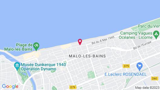 Hotel Merveilleux Côté Mer Map
