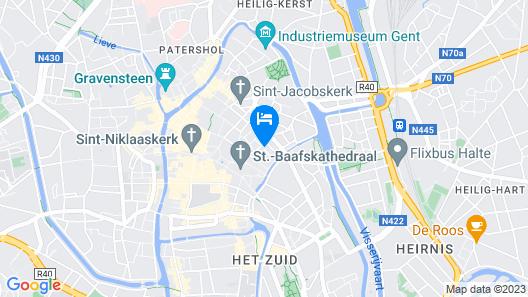 Flandria Hotel Map