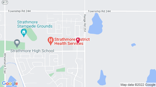 Executive Private Suites Near Calgary Map