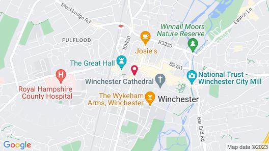 Hotel du Vin & Bistro Winchester Map