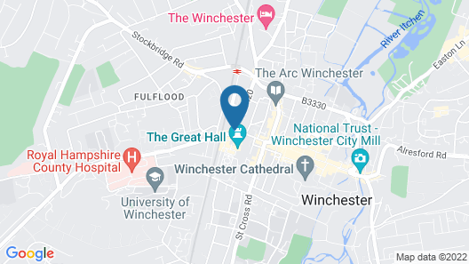 Westgate Winchester Map