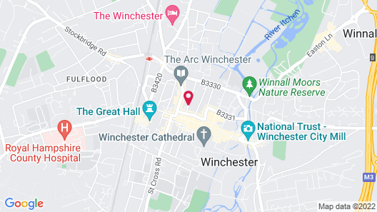 Winchester Royal Hotel Map