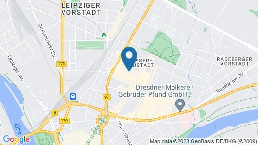 Limehome Dresden Jordanstraße Map