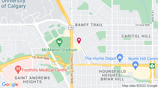 Holiday Inn Express & Suites Calgary NW - University Area, an IHG Hotel Map