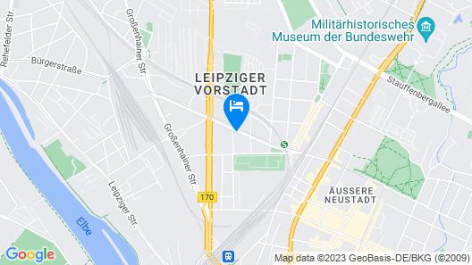 ibis Styles Dresden Neustadt Map