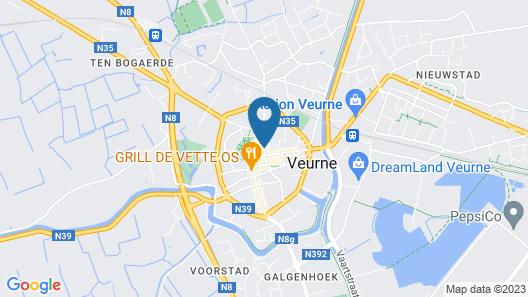 Hostellerie Croonhof Map