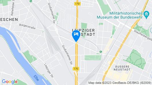 NH Dresden Neustadt Map