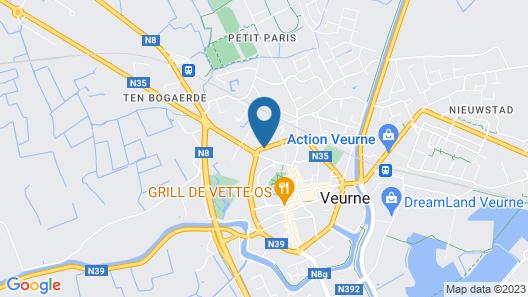 Auberge De Klasse Map