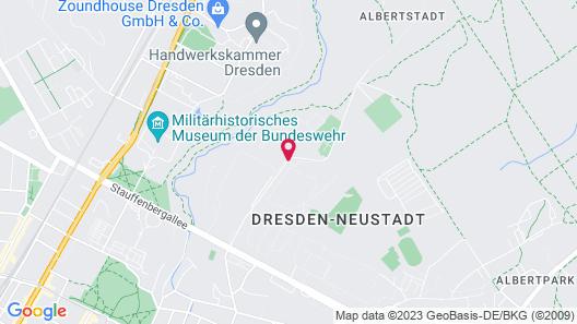 Sportpension Dresden Map