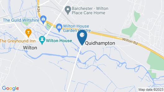 The Apartments Quidhampton Mill Map