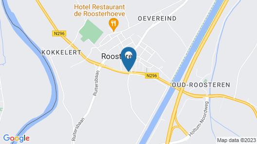 Herberg De Tramhalte Map
