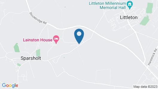 Lainston House Hotel Map