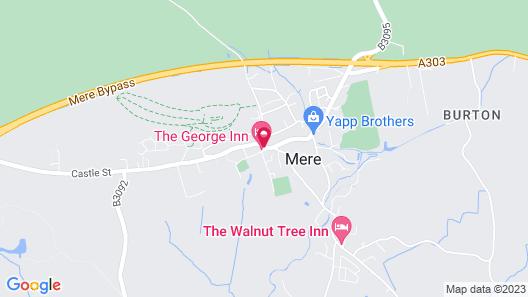 The George Inn Map