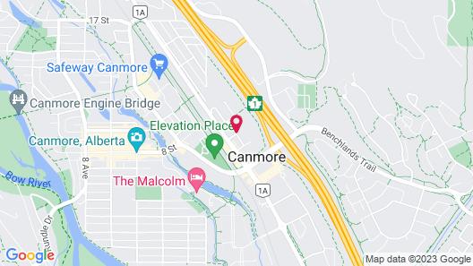 Grande Rockies Resort - Bellstar Hotels & Resorts Map