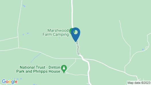 Marshwood Farm B&B Map