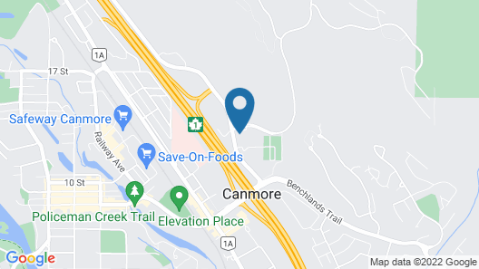 Holiday Inn Canmore, an IHG Hotel Map