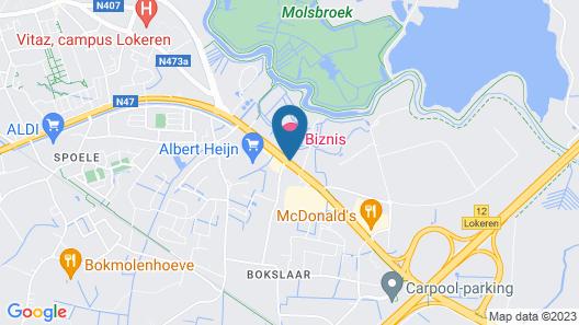 Biznis Hotel Map
