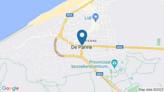 Hotel ibis De Panne Map