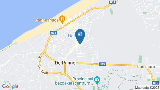 Hotel aan Zee Map