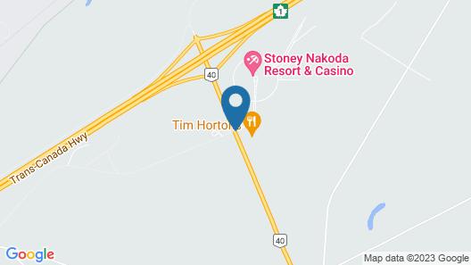 Stoney Nakoda Resort & Casino Map