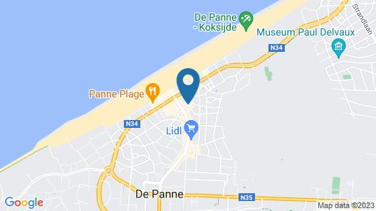 Hotel Sfinx Map