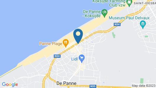 Artiste Hotel Map