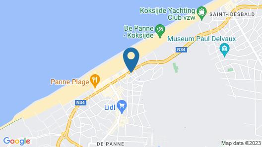 App De Panne Map