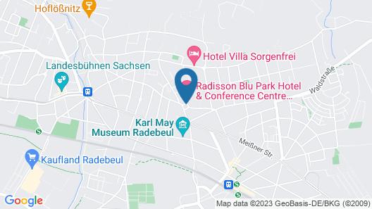 Radisson Blu Park Hotel & Conference Centre Map