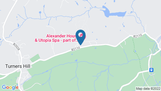 Alexander House And Utopia Spa Map