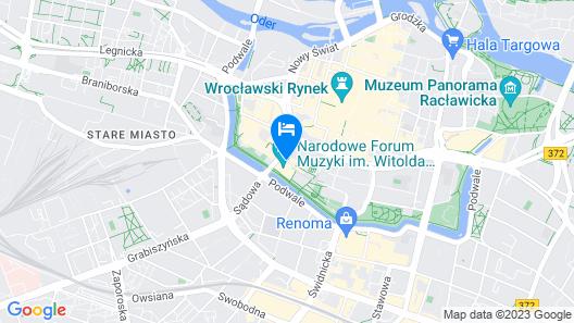 AC Hotel by Marriott Wroclaw Map