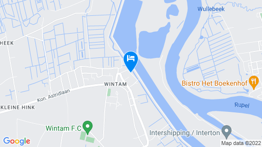 Cozy Holiday Home in Wintam Near Dam Map