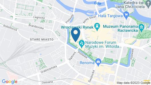 PURO Wrocław Stare Miasto Map