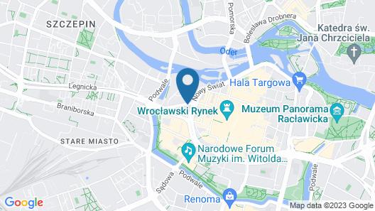 SleepWalker Boutique Suites Map