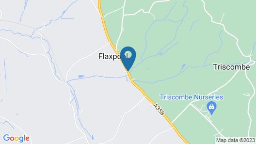 Quantock Orchard Caravan Park Map
