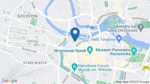 Dikul Hotel Map